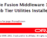 Oracle OHS Service Creating and Start Problem