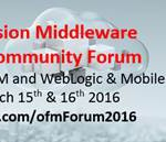 OFM Forum 2016 at Valencia,Spain