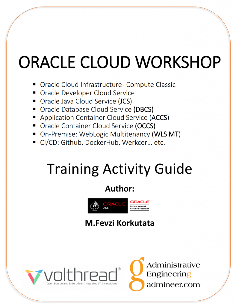 Training Activity Guide Cover Page by M.Fevzi Korkutata