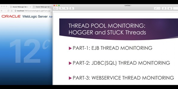 Understanding and Learning Oracle WebLogic Thread Pool (Hoggers & Stucks): EJB, JDBC/SQL, HTTP/WebService Thread Analyzing